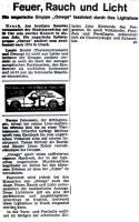 Zeitungsartikel 1977
