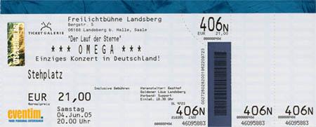 Omega 2005